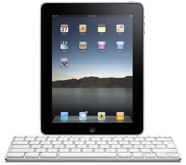 Der Keyboard-Dock für das iPad
