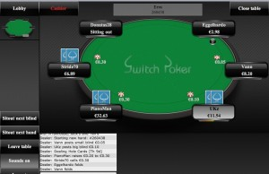 Switch Poker Screenshot