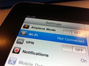 SIM oder Wifi